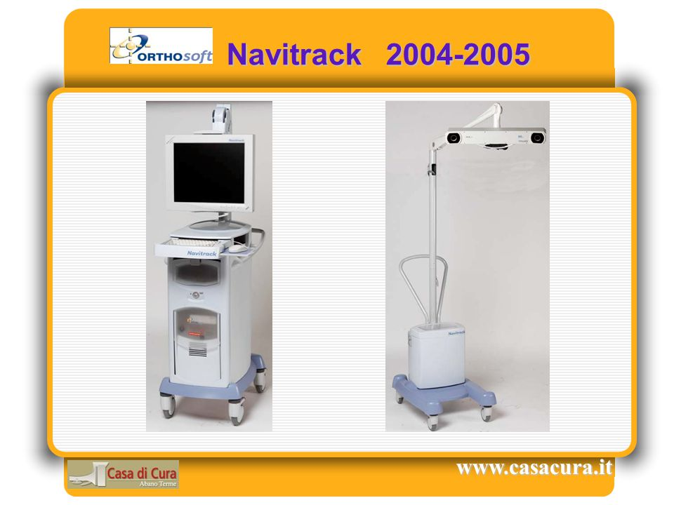 Navitrack 2004-2005 www.casacura.it