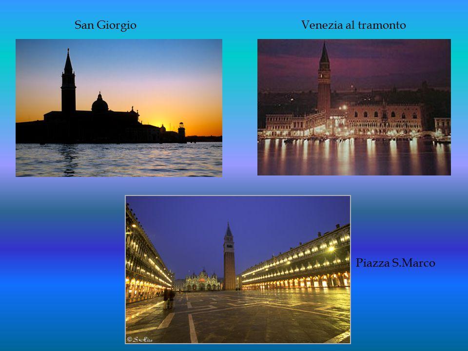 San Giorgio Venezia al tramonto Piazza S.Marco