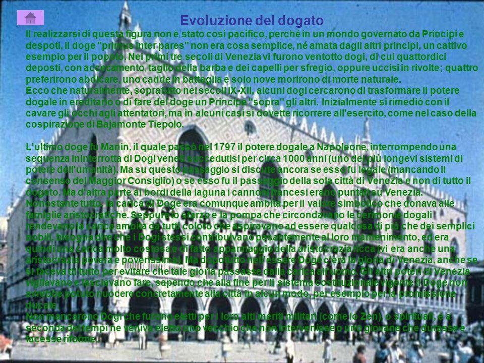 Evoluzione del dogato