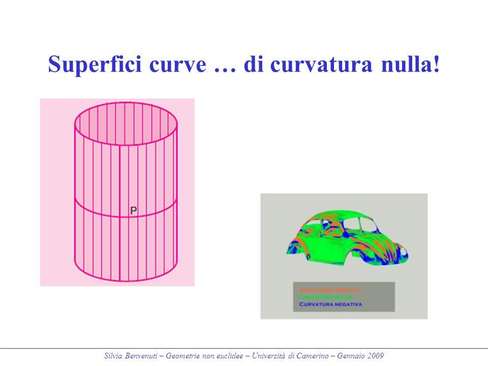 Superfici curve … di curvatura nulla!