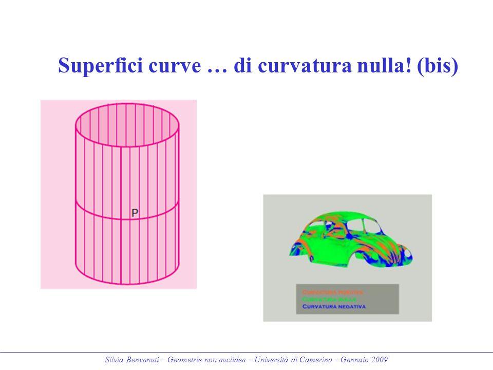 Superfici curve … di curvatura nulla! (bis)