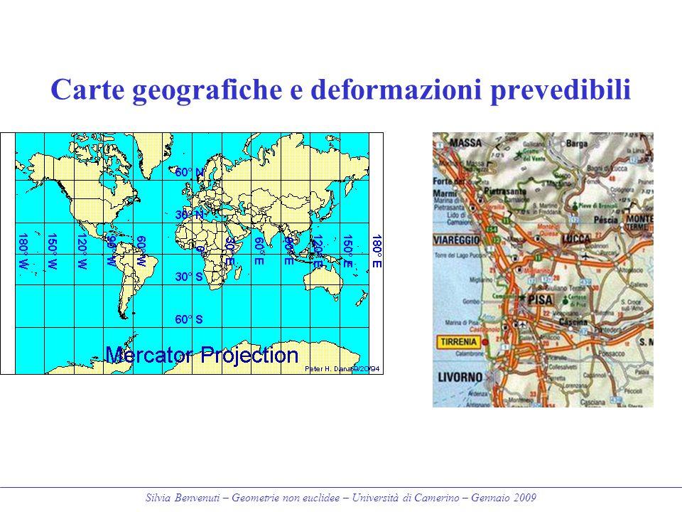 Carte geografiche e deformazioni prevedibili