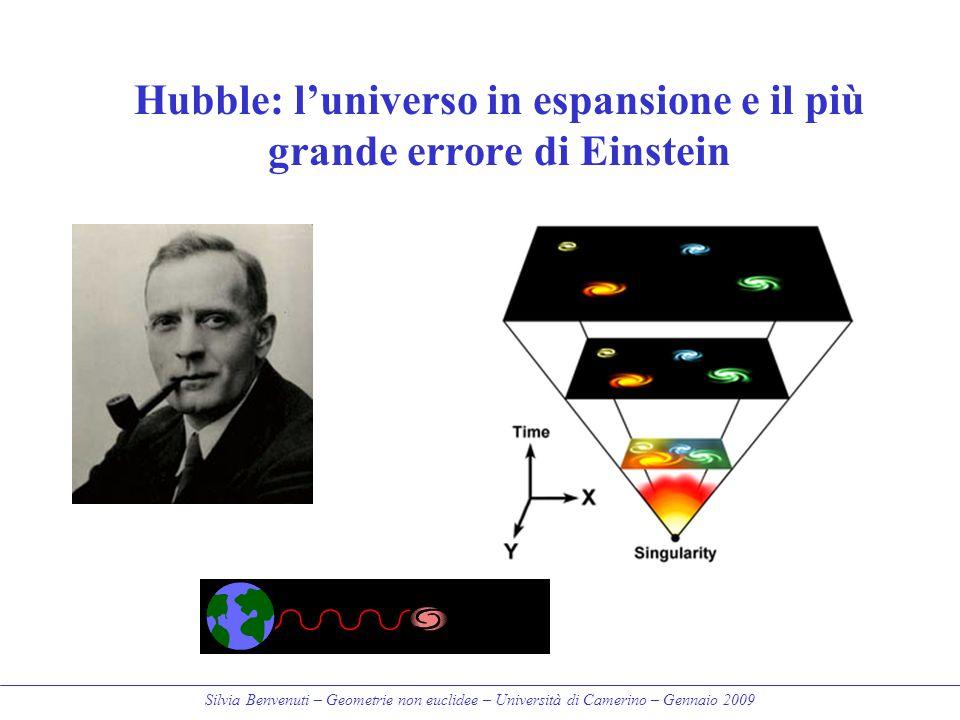 Hubble: l'universo in espansione e il più grande errore di Einstein