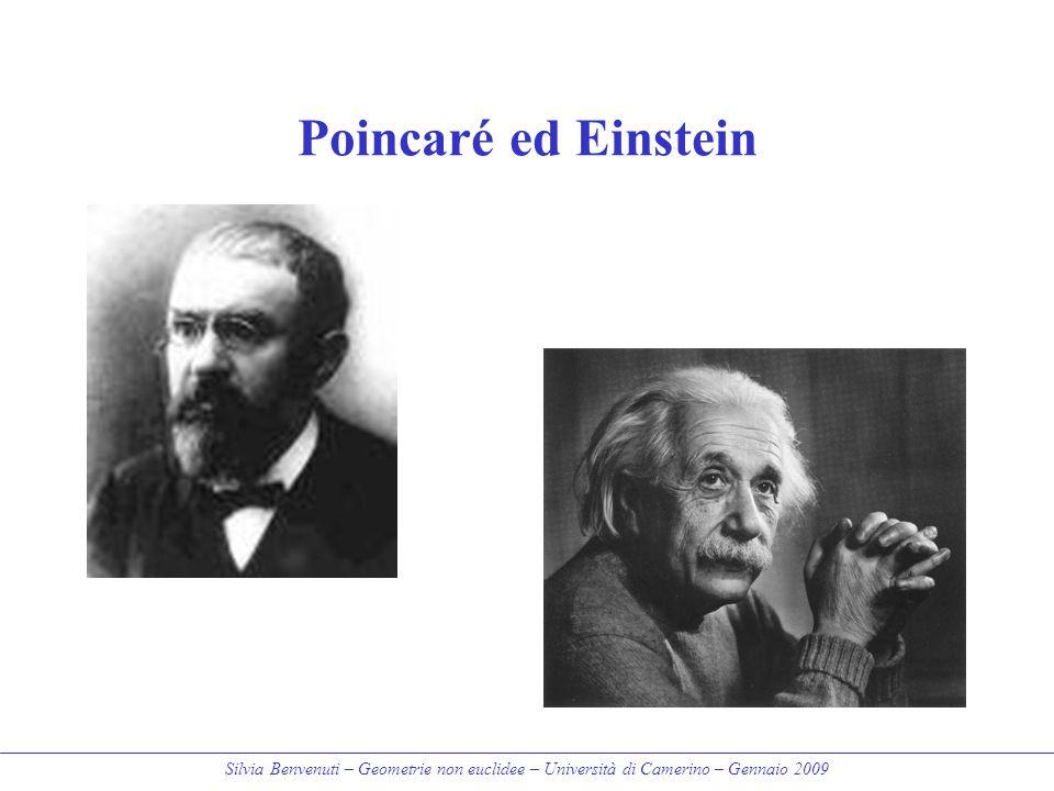 Poincaré ed Einstein