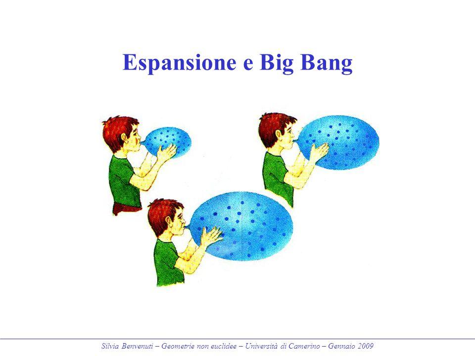 Espansione e Big Bang