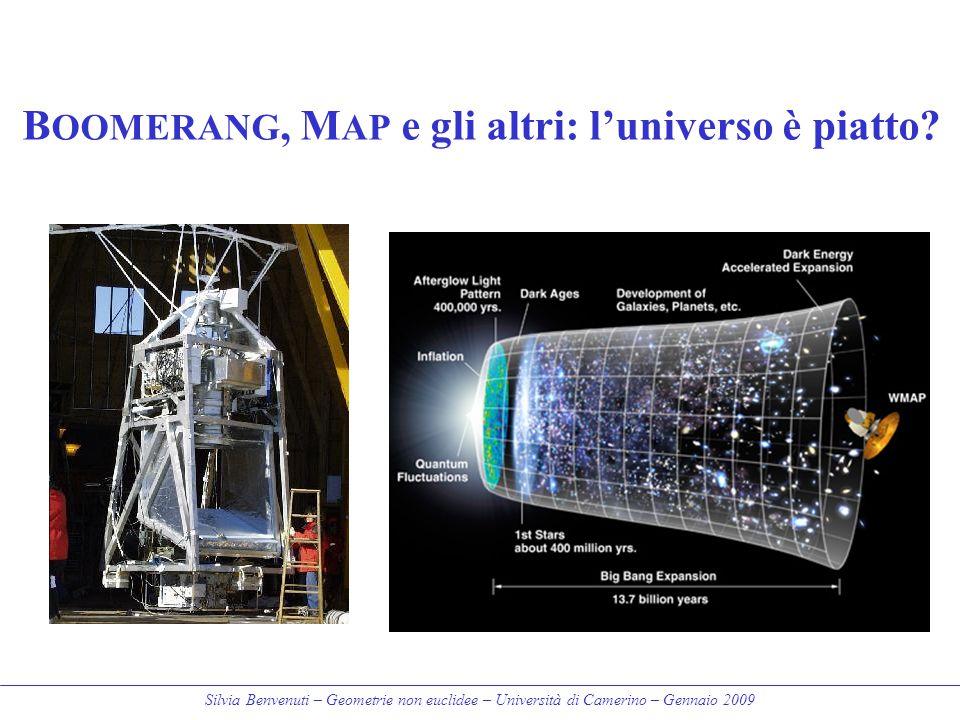 BOOMERANG, MAP e gli altri: l'universo è piatto