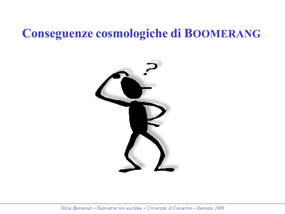 Conseguenze cosmologiche di BOOMERANG