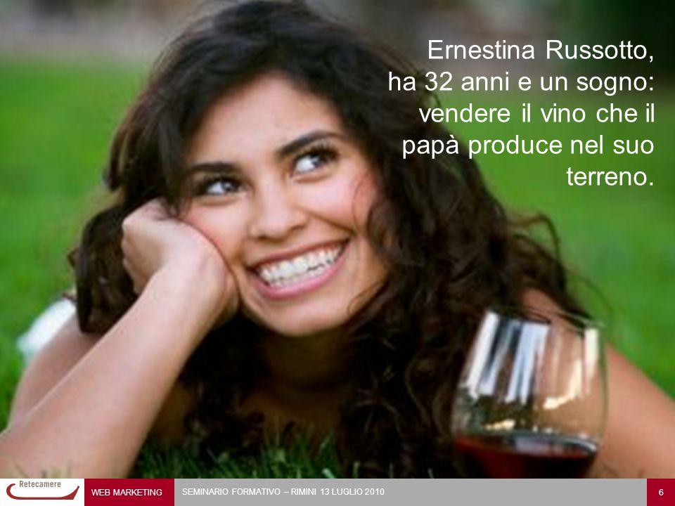 Ernestina Russotto, ha 32 anni e un sogno: