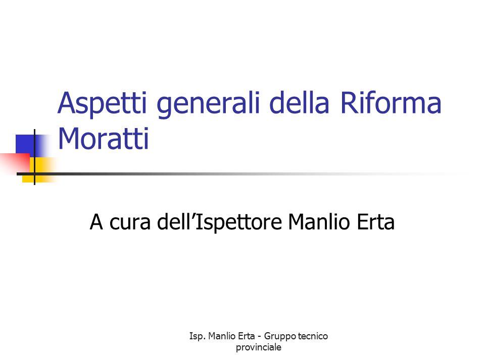 Aspetti generali della Riforma Moratti