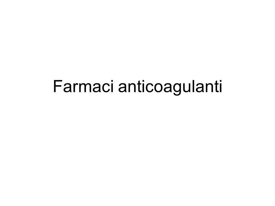 Farmaci anticoagulanti