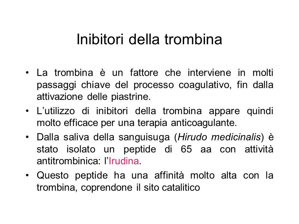 Inibitori della trombina