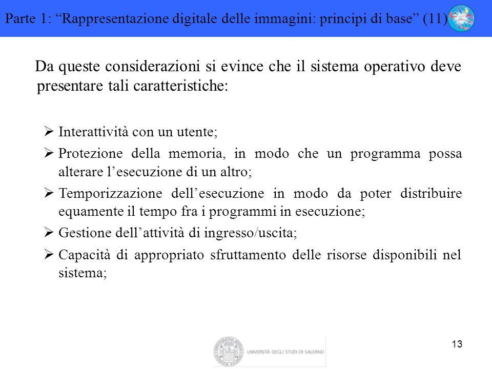 Parte 1: Rappresentazione digitale delle immagini: principi di base (11)