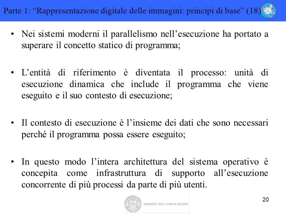Parte 1: Rappresentazione digitale delle immagini: principi di base (18)