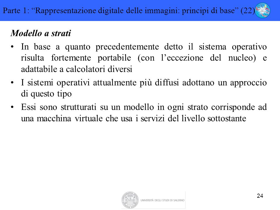 Parte 1: Rappresentazione digitale delle immagini: principi di base (22)