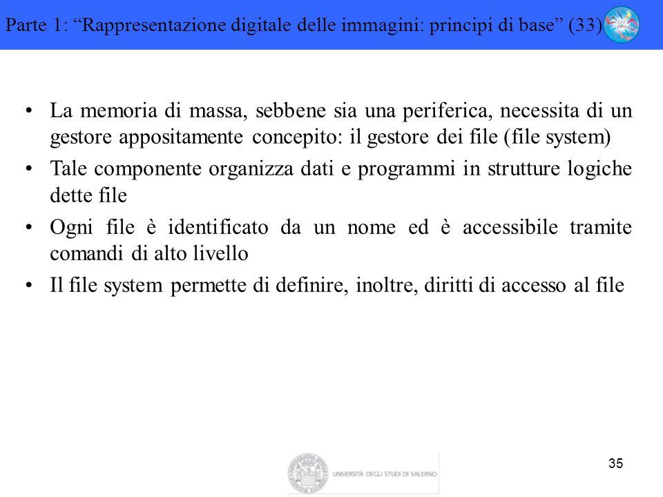 Parte 1: Rappresentazione digitale delle immagini: principi di base (33)