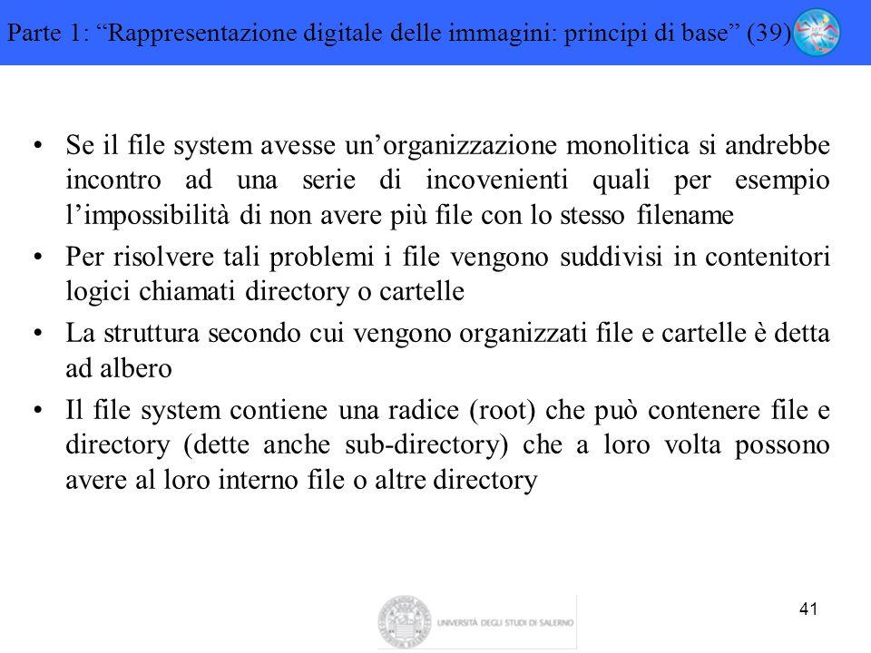 Parte 1: Rappresentazione digitale delle immagini: principi di base (39)