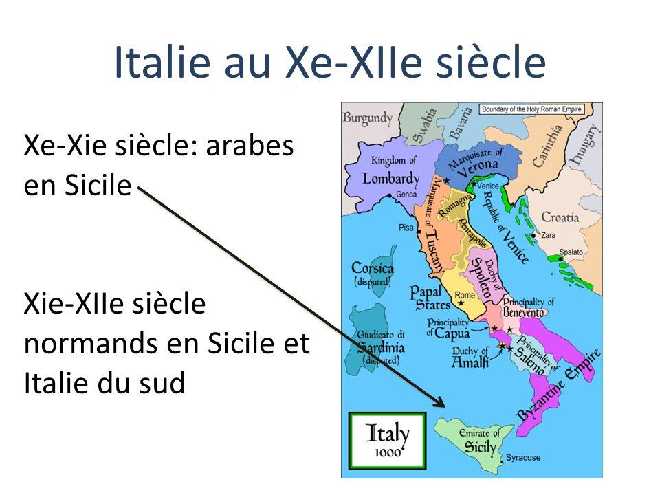 Italie au Xe-XIIe siècle