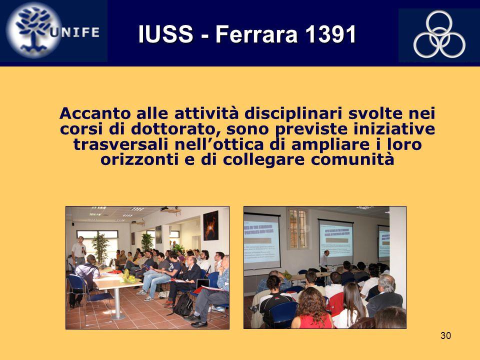 IUSS - Ferrara 1391