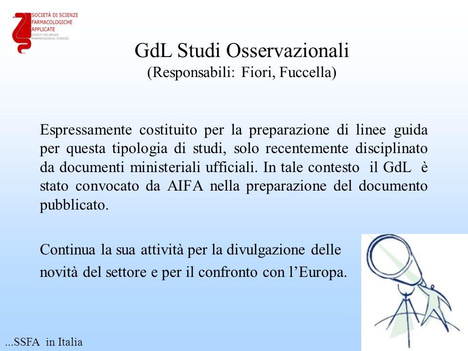 GdL Studi Osservazionali (Responsabili: Fiori, Fuccella)