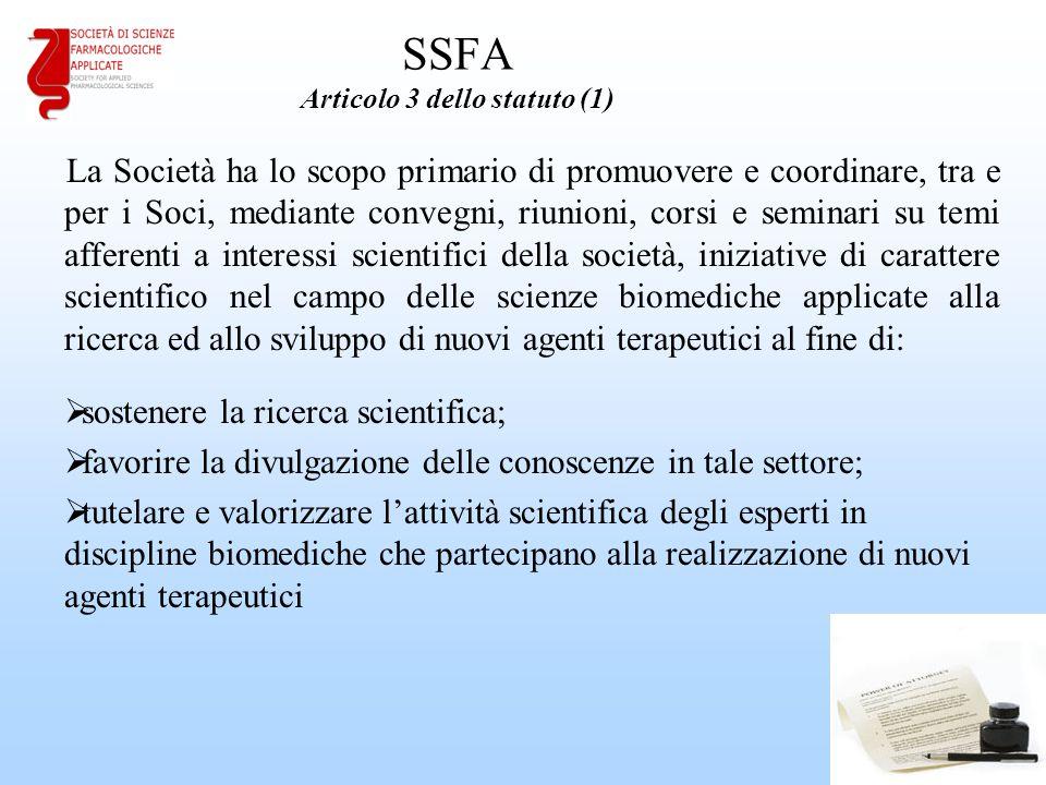 SSFA Articolo 3 dello statuto (1)