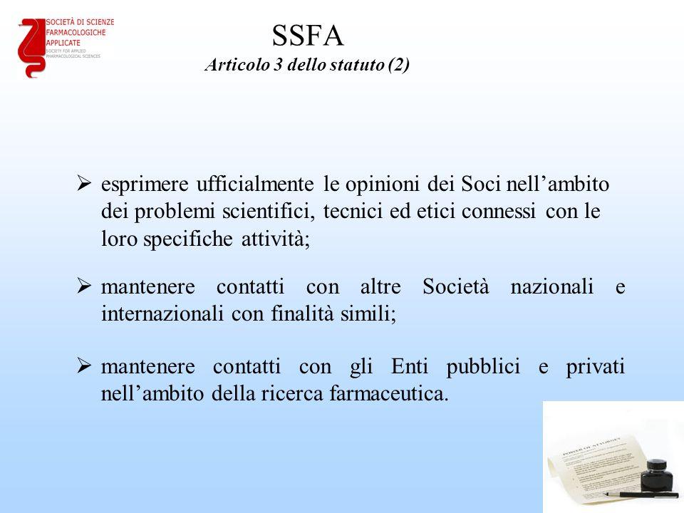 SSFA Articolo 3 dello statuto (2)