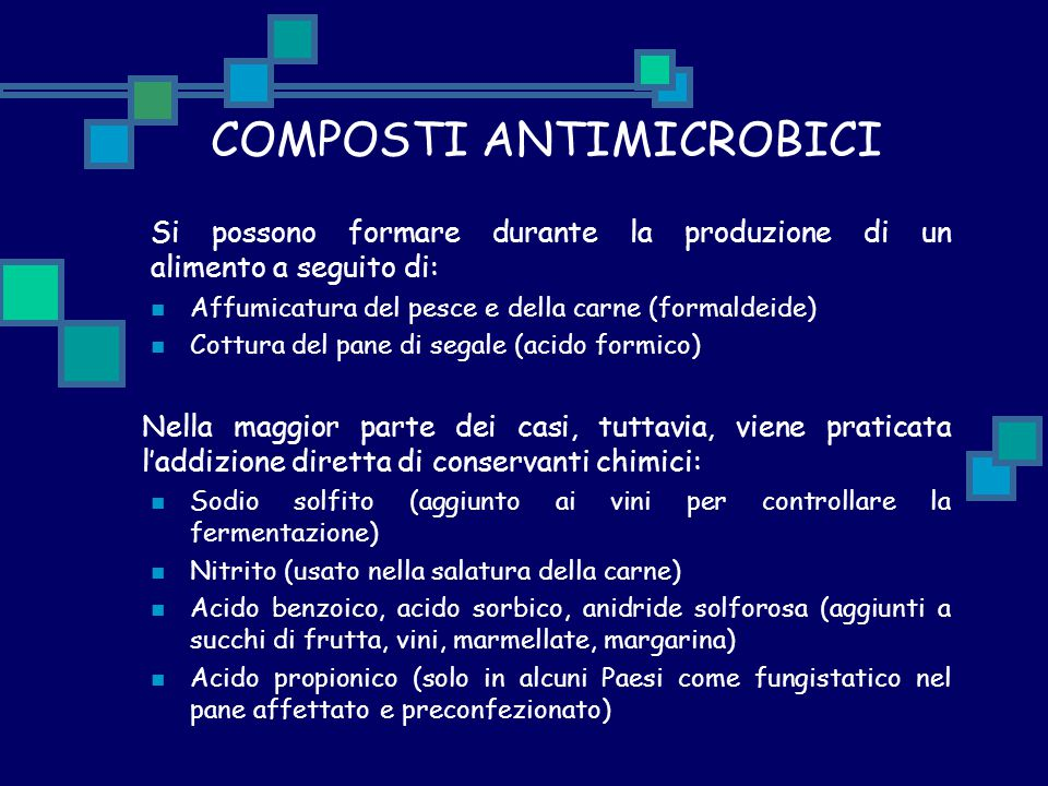 COMPOSTI ANTIMICROBICI