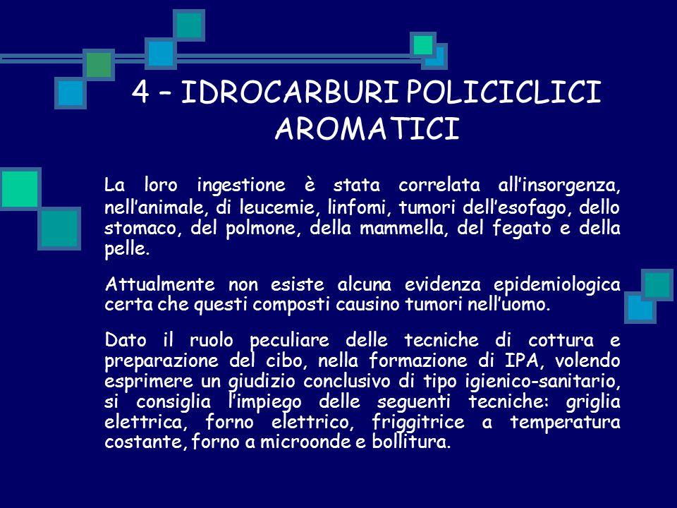 4 – IDROCARBURI POLICICLICI AROMATICI