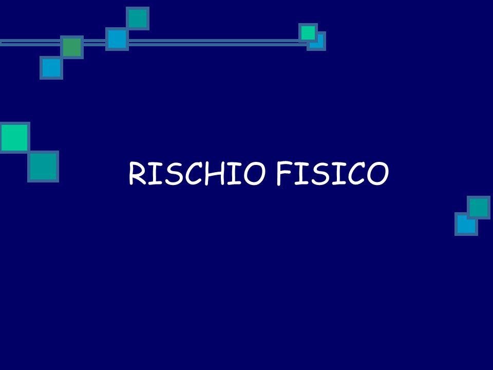 RISCHIO FISICO