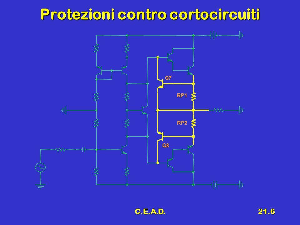 Protezioni contro cortocircuiti