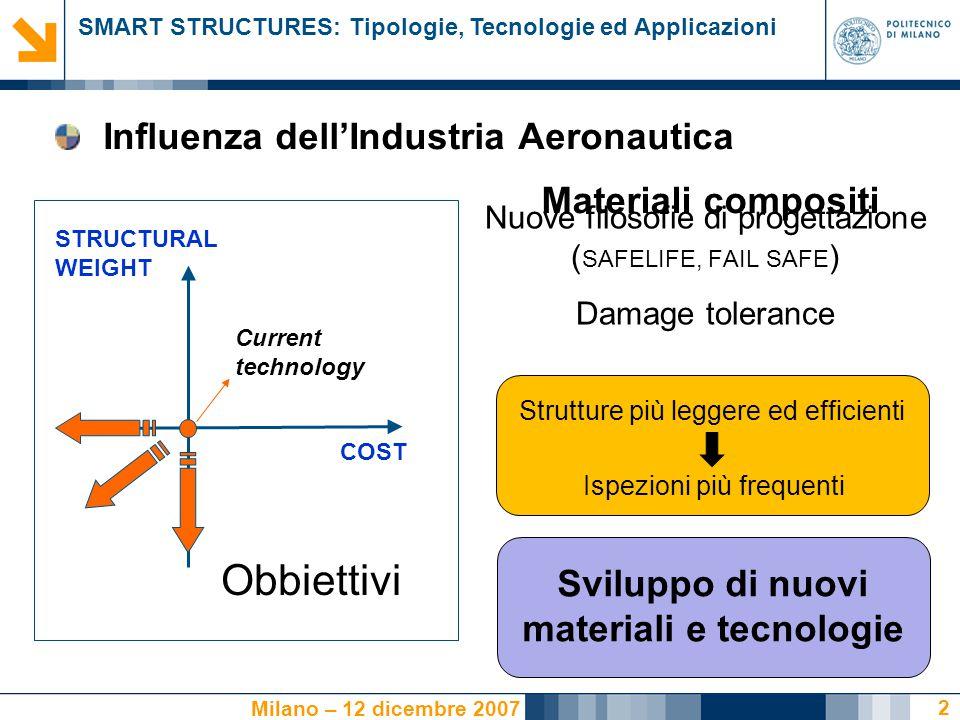 Sviluppo di nuovi materiali e tecnologie