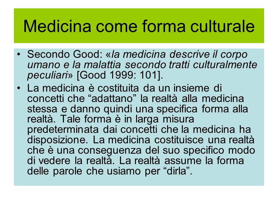 Medicina come forma culturale
