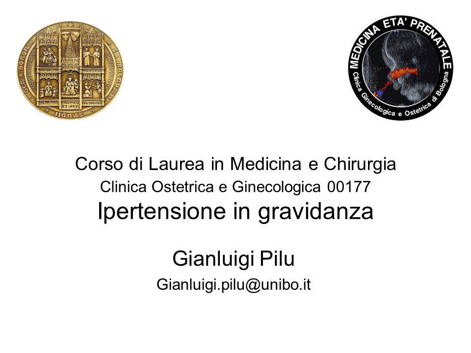 Gianluigi Pilu Gianluigi.pilu@unibo.it