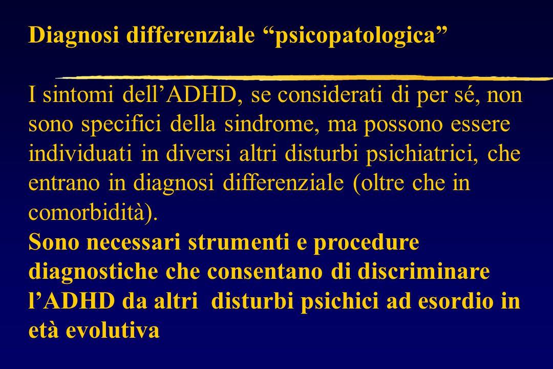 Diagnosi differenziale psicopatologica