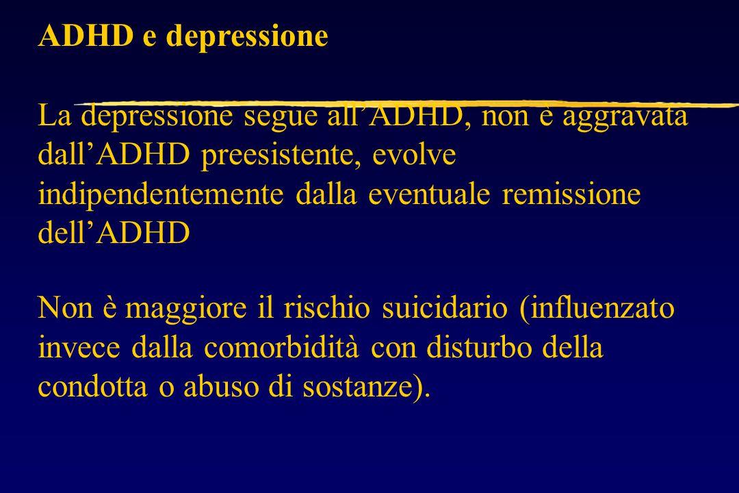 ADHD e depressione