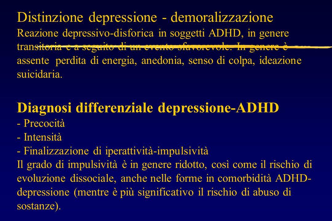 Distinzione depressione - demoralizzazione