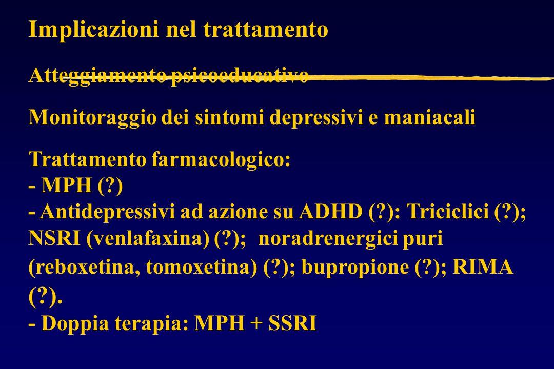 Implicazioni nel trattamento
