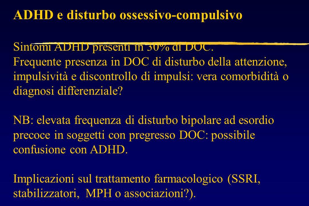 ADHD e disturbo ossessivo-compulsivo
