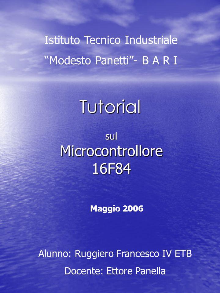 sul Microcontrollore 16F84