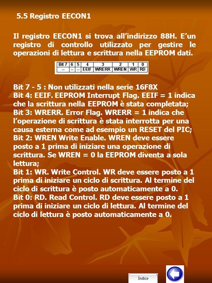 5.5 Registro EECON1