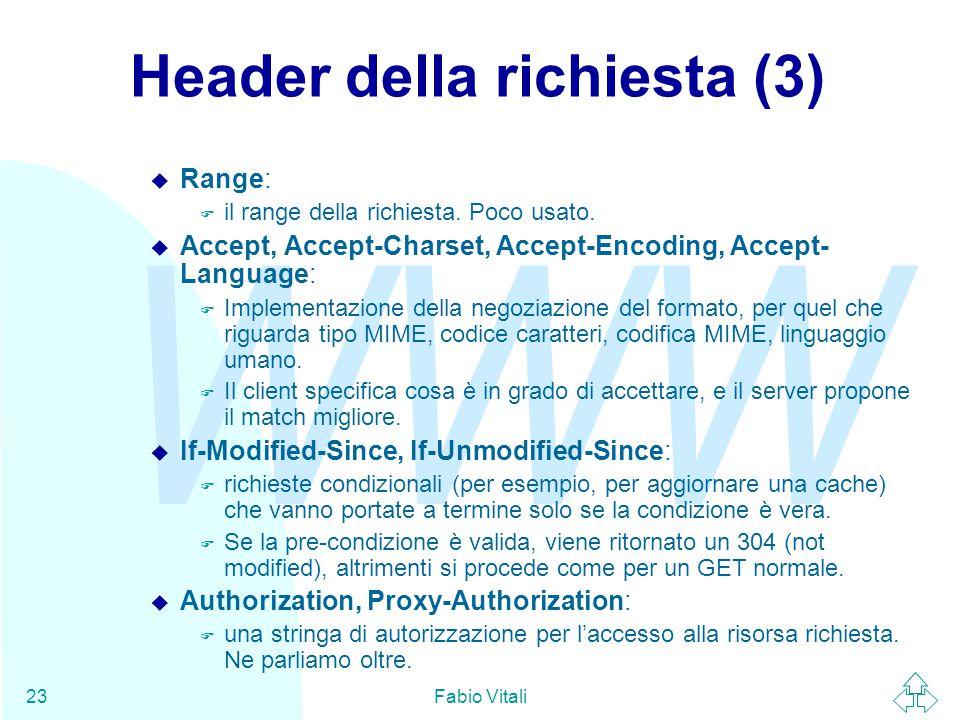 Header della richiesta (3)