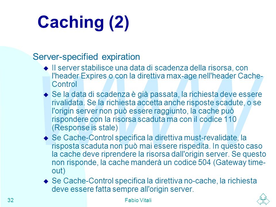 Caching (2) Server-specified expiration