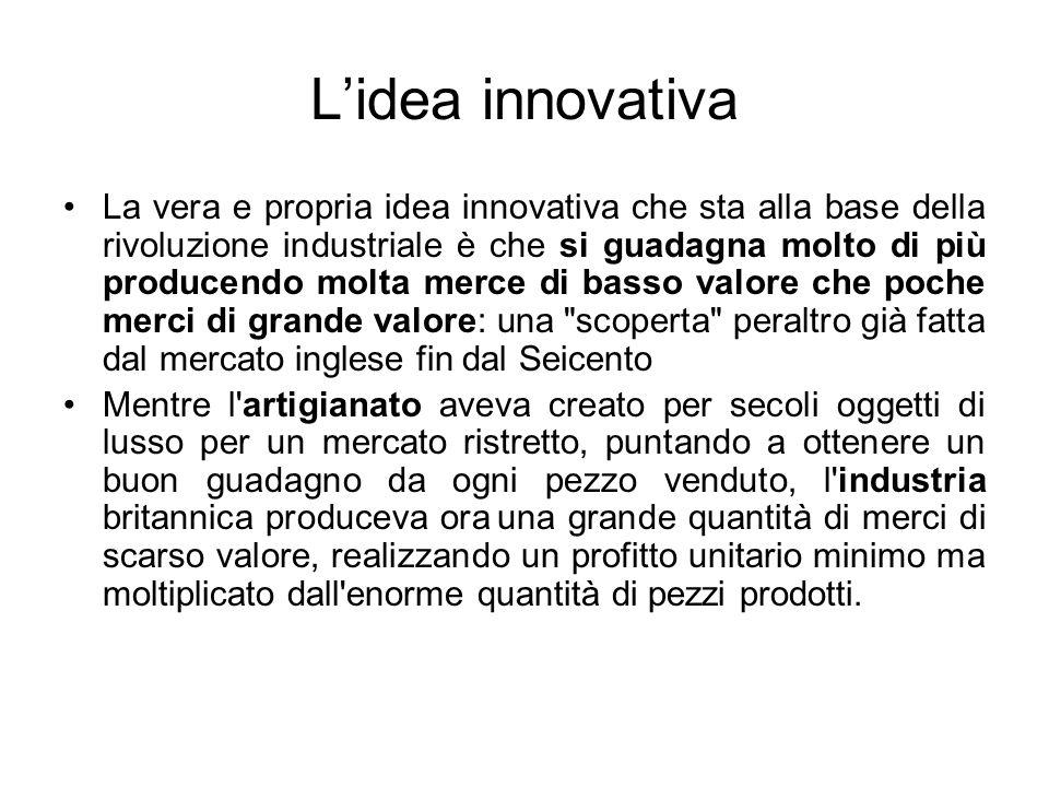 L'idea innovativa