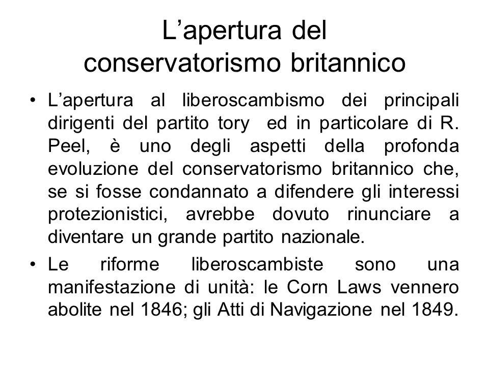 L'apertura del conservatorismo britannico