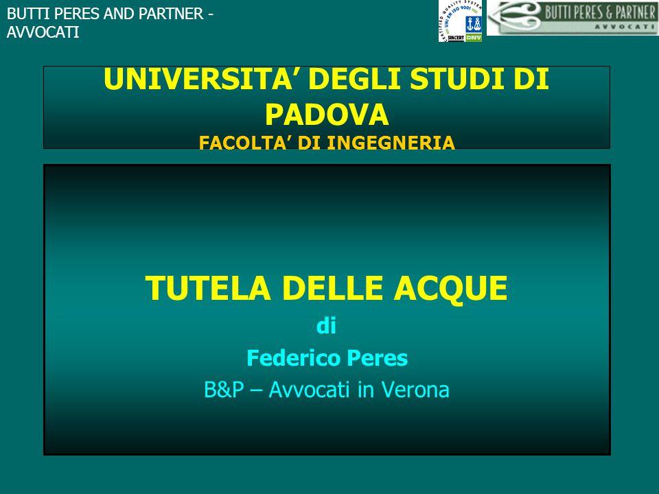 UNIVERSITA' DEGLI STUDI DI PADOVA FACOLTA' DI INGEGNERIA
