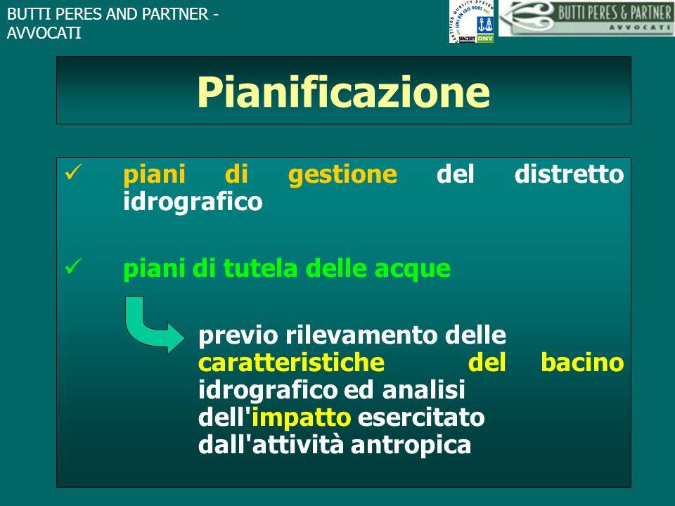 Pianificazione piani di gestione del distretto idrografico