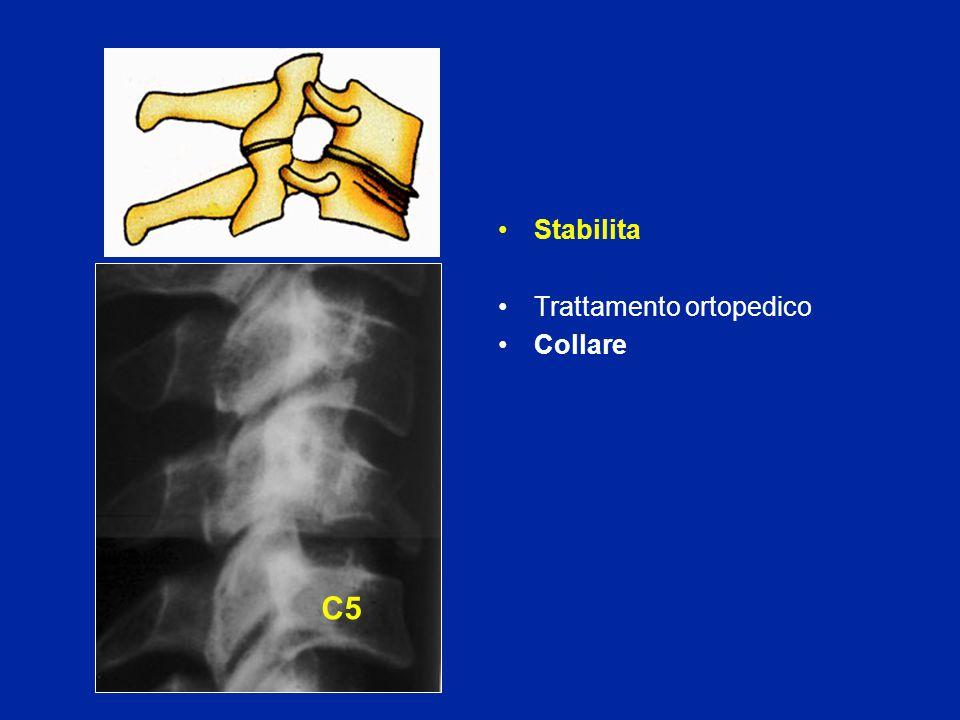 Stabilita Trattamento ortopedico Collare C5