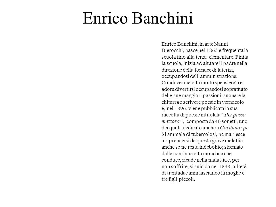 Enrico Banchini
