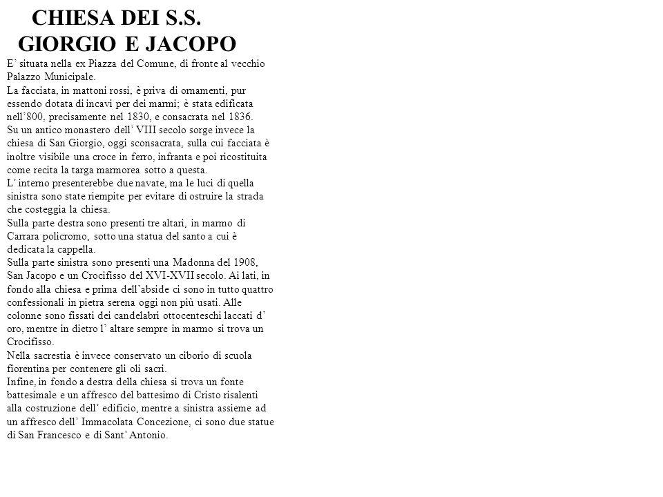 GIORGIO E JACOPO CHIESA DEI S.S.