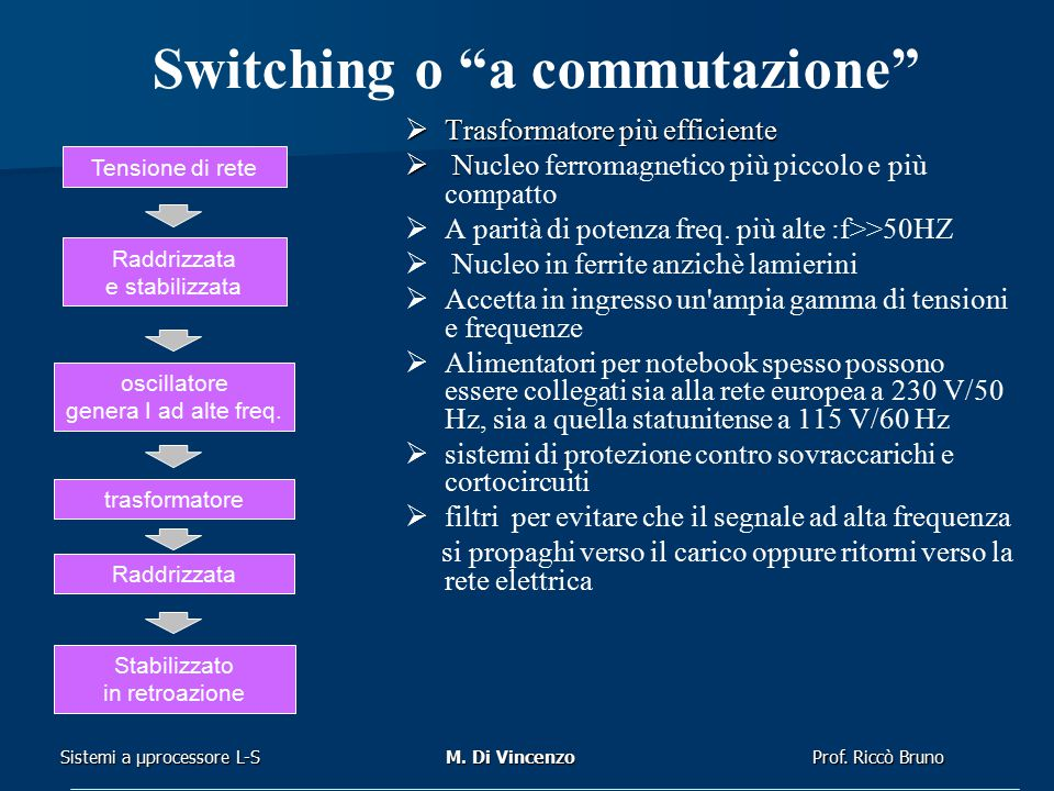 Switching o a commutazione