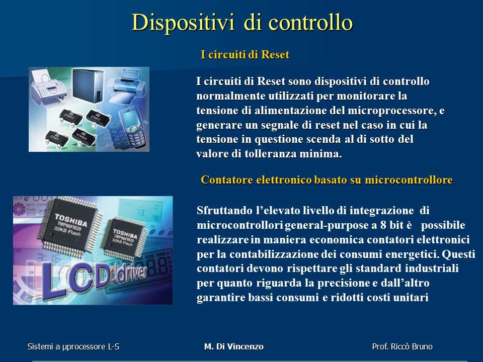 Dispositivi di controllo